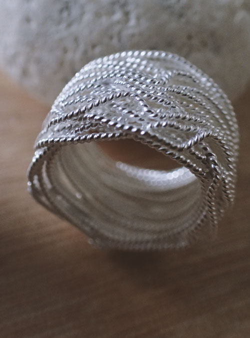 Silver Wire Ring